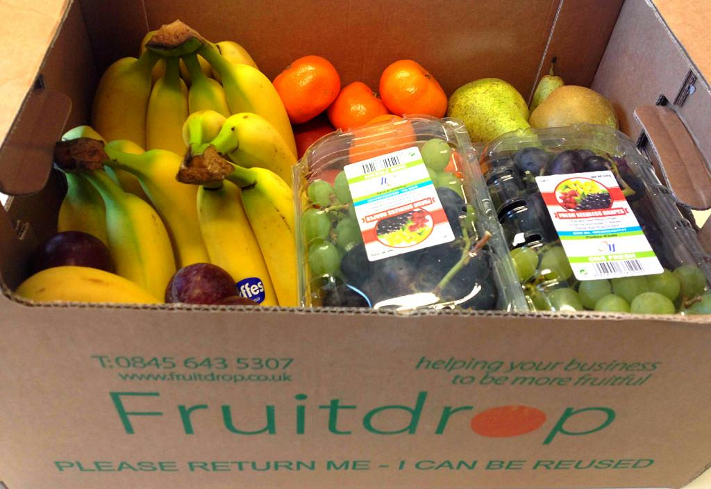Our fab Fruitdrop fruit delivery!