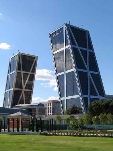 The Puerta de Europa Towers
